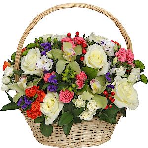 Корзина цветов Версаль