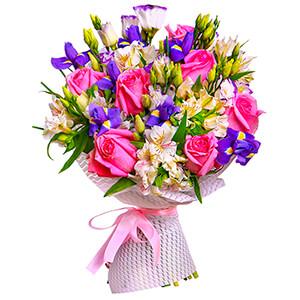 Прекрасный букет +30% цветов с доставкой в Нижнем Новгороде