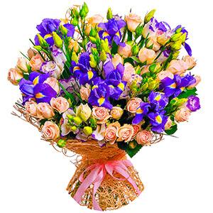 Дизайнерский букет +30% цветов с доставкой в Нижнем Новгороде