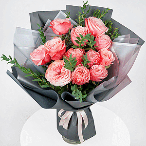 Бизнес-букет +30% цветов с доставкой в Нижнем Новгороде