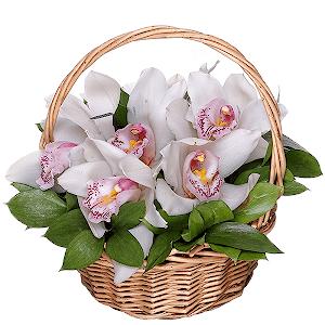 Корзина цветов Жемчужина души